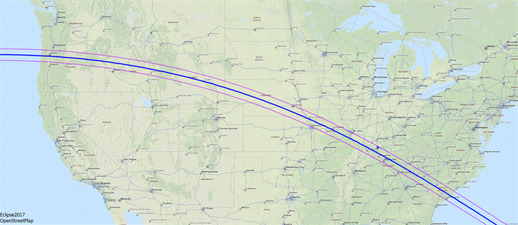 Total Eclipse Path