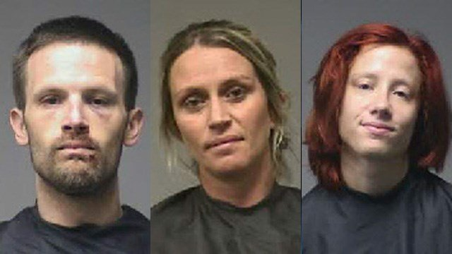 Left to right: Joshua Jackson, Christina Epps and Cheyanne Holland (Source PCSO)