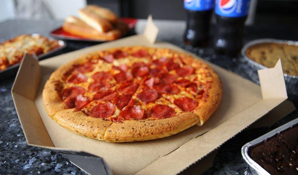 Pizza hut blog pi day