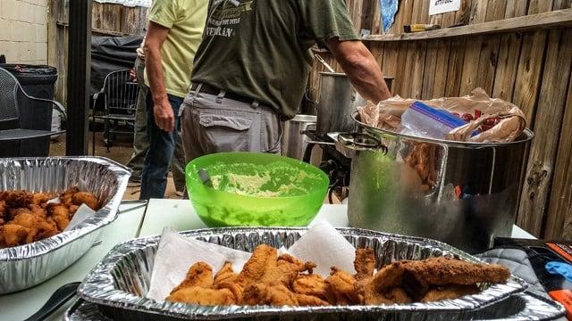 Fish fry benefits spartanburg boy battling autoimmune for Carolina fish fry