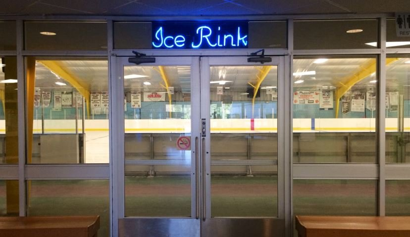 The new ice rink is open at the Pavilion (FOX Carolina/ April 4, 2016)