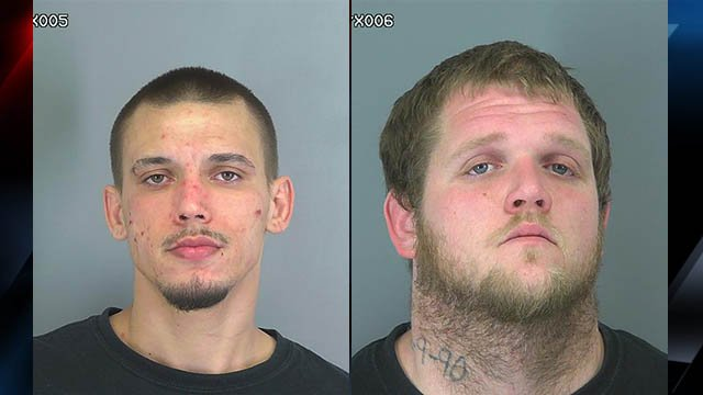 Pressley (left) and Vinson (Courtesy: SCSO)
