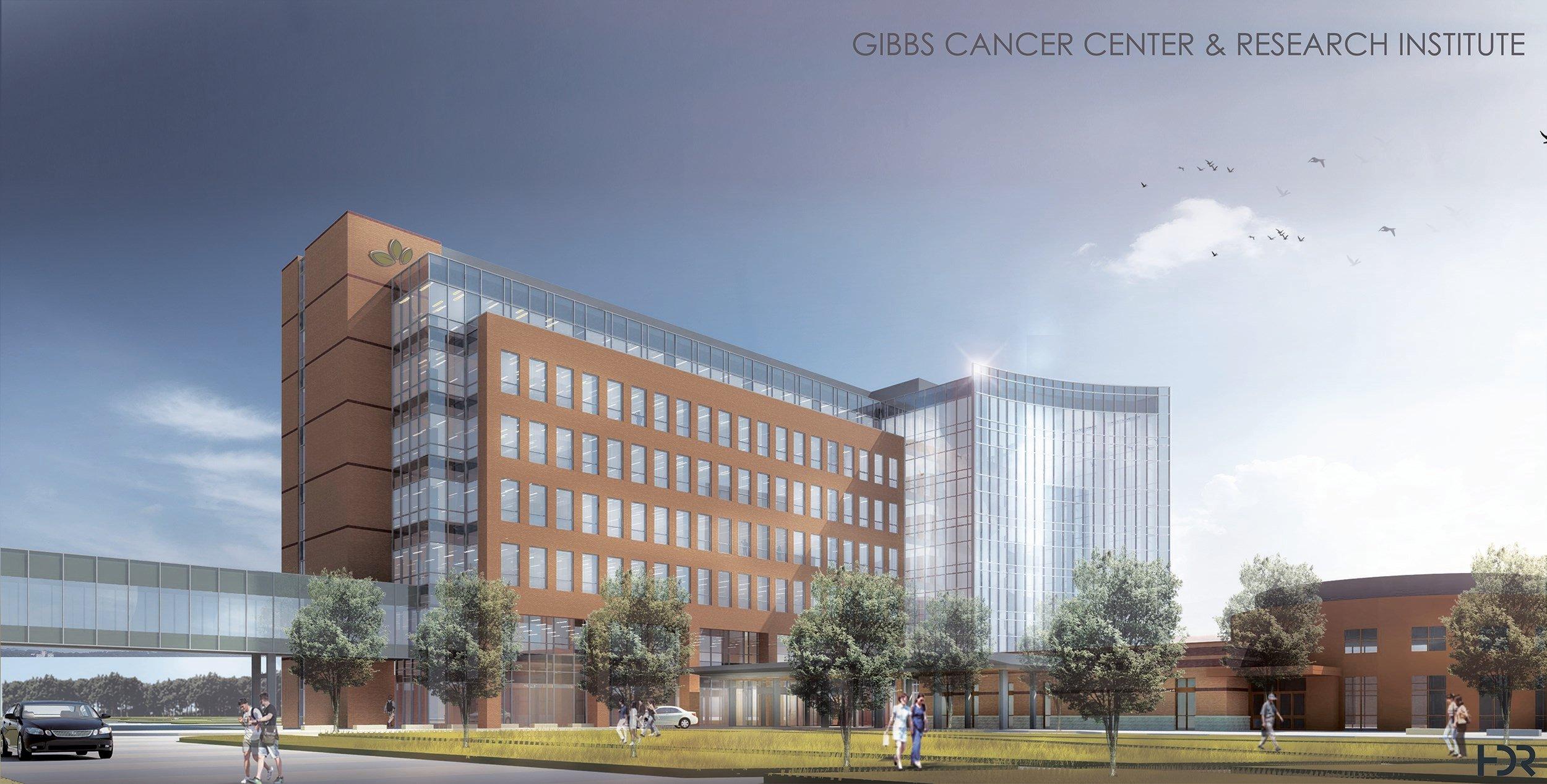 Rendering of new Gibbs at Pelham center. (Source: SRHS)