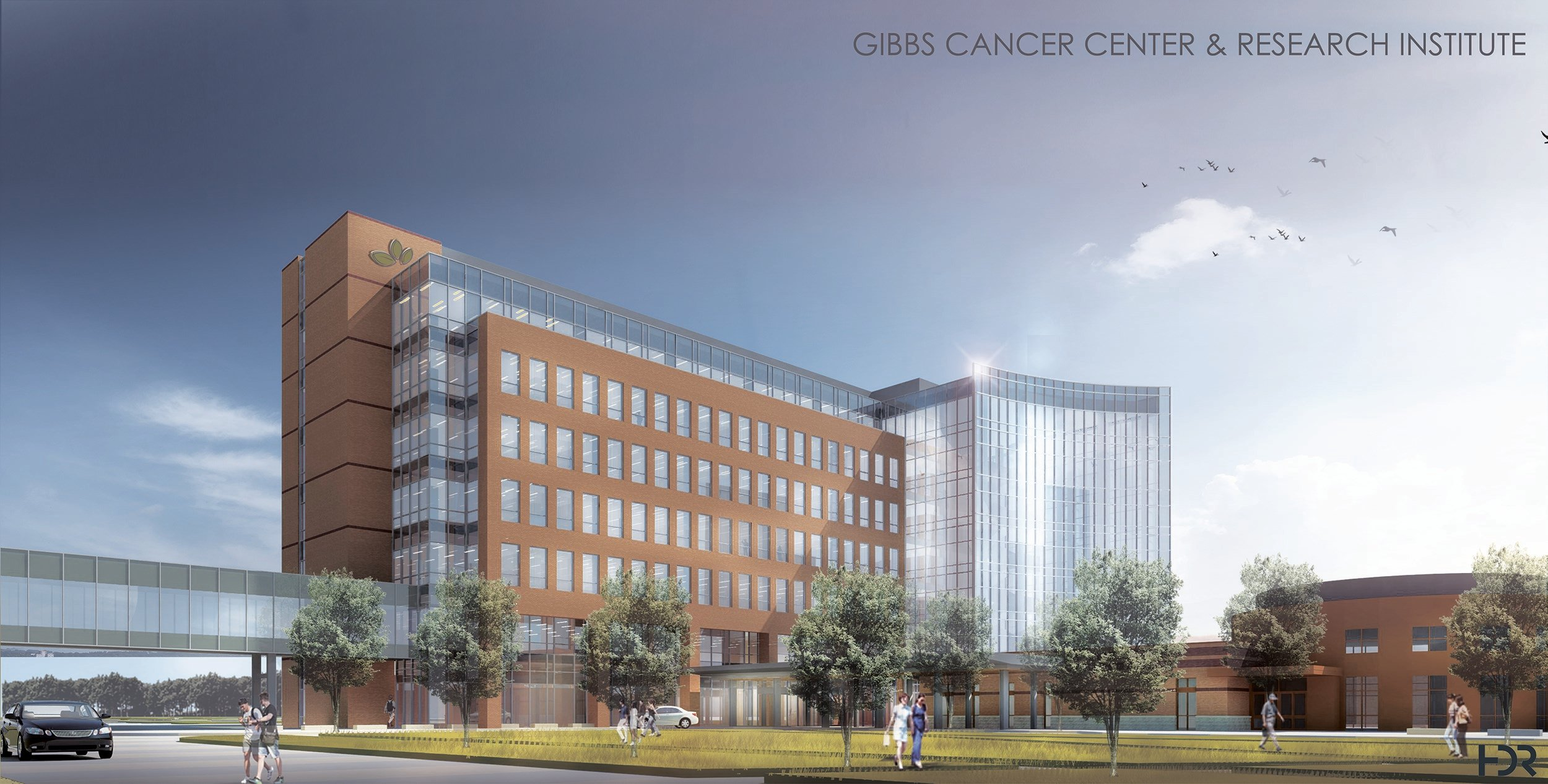 Rendering of new Gibbs at Pelham center. (Source: SRHS)