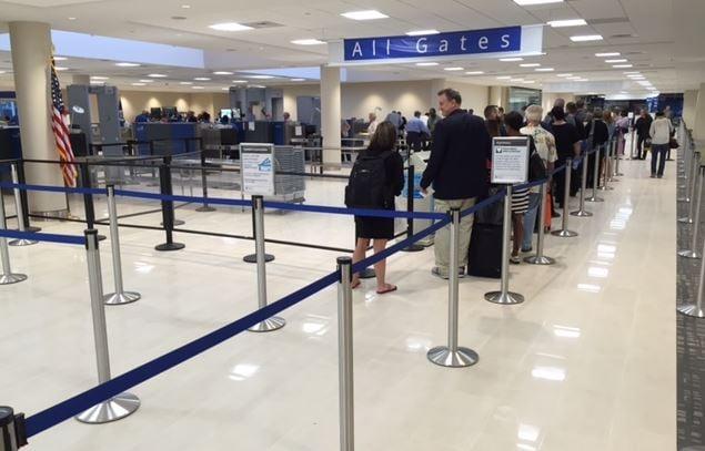 New TSA checkpoint opens at GSP (FOX Carolina/ May 25, 2016)