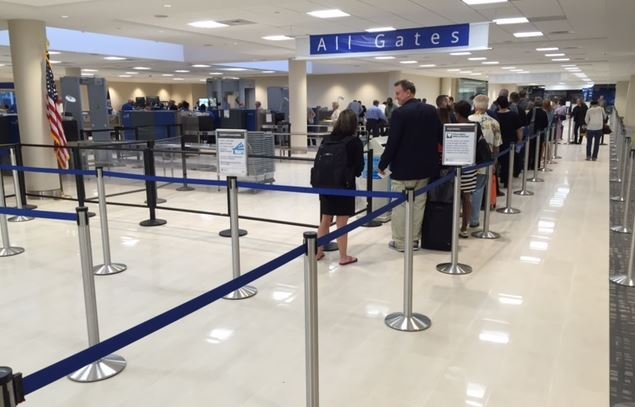 New TSA checkpoint opens at GSP (FOX Carolina/ May 25, 2016)