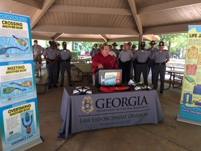 Georgia DNR, SCHP and the Georgia Office of Highway Safety are teaming up to keep people safe on water and land (FOX Carolina)