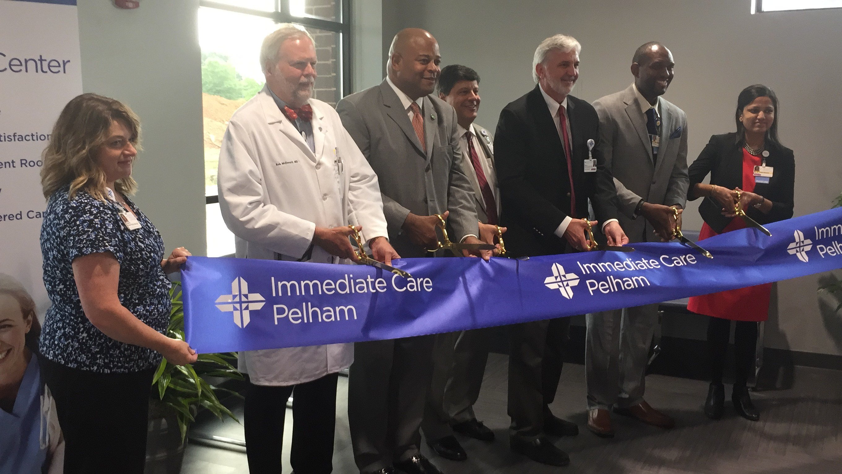 New opening of immediate care center. (Courtesy: SRHS)