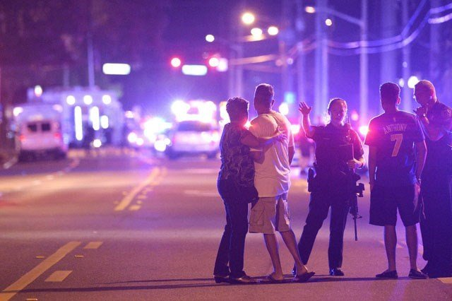 Emergency crews respond to Pulse nightclub in Orlando after deadliest mass shooting in American history