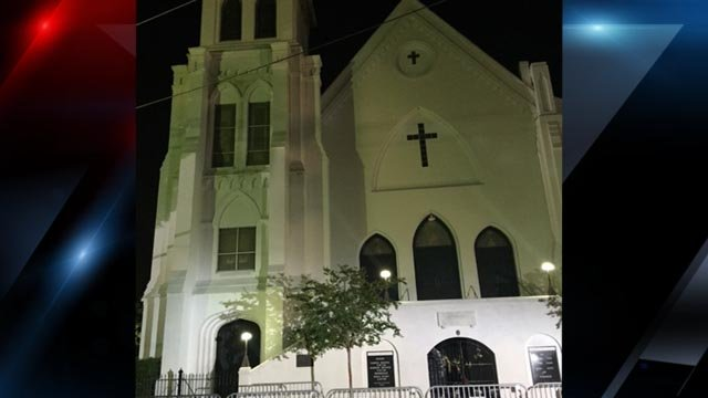 Officials reflect on anniversary of charleston church shooting fox emanuel ame church fox carolina june 17 2016 malvernweather Images