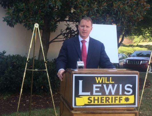 Will Lewis holding a press conference on Tuesday. (Source: Fox Carolina)