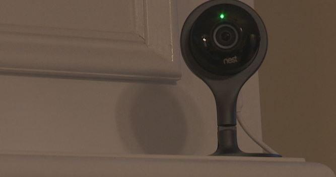 Home surveillance camera. (Source: Fox Carolina)