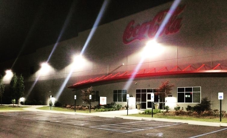 The Coca Cola Bottling Co. Regional Sales & Distribution Center in Anderson Co. (FOX Carolina/ June 23, 2016)