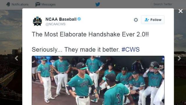 (Source: NCAA Baseball/Twitter)