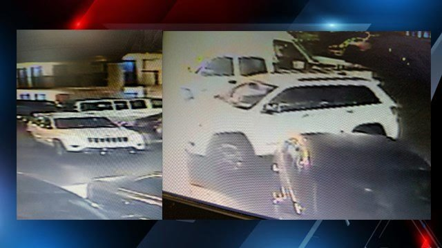 Jeep Grand Cherokee connected with 4 car break-ins in N.C. (Source: Hendersonville Police Department)
