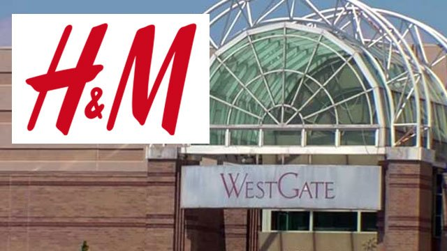 H&M is coming to Westgate Mall. (file/FOX Carolina)
