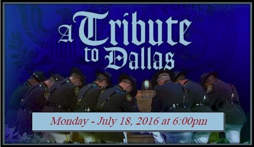 The Spartanburg County Sheriff's Office will hold a Fallen Officers Remembrance Ceremony honoring the Dallas Police Department on Monday, July 18 at 6 p.m. (SOURCE: SCSO)