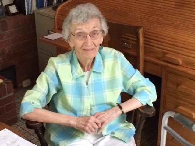 Agne Dietrich, Upstate Home Care client. (FOX Carolina/ July 22, 2016)