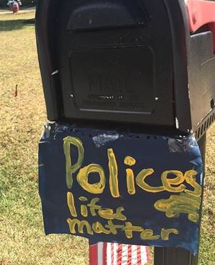 An Upstate boy is showing his support for law enforcement. (FOX Carolina/July 24, 2016)