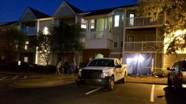 Authorities investigate the victim's death at West Chase. (file/FOX Carolina)