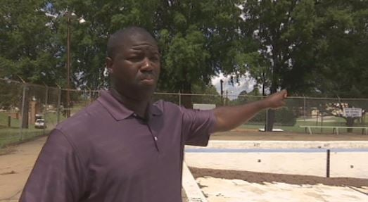 Marcus Bradley, director of Cherokee Recreation District, said the pool is too costly to repair, and the closing was not racially motivated (FOX Carolina)