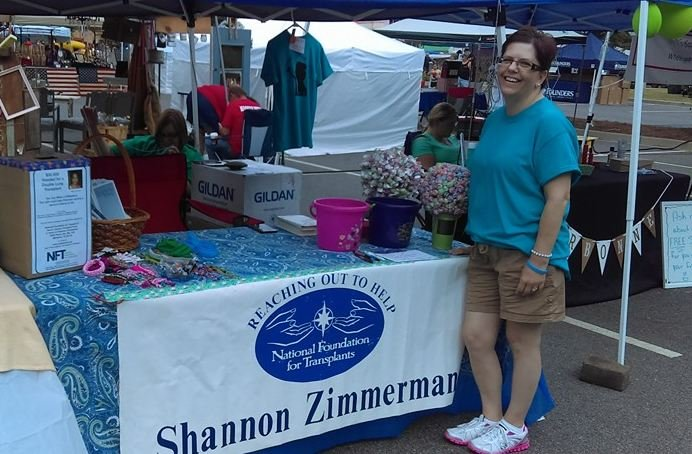 Shannon Zimmerman during a fundraiser held in her honor (Courtesy: Facebook)