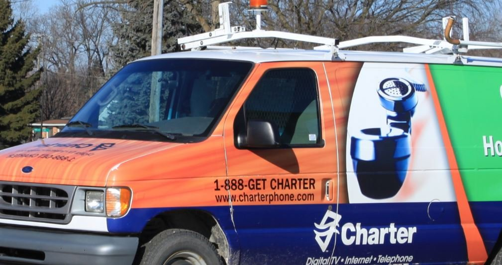 A Charter service van (Wikimedia Commons)