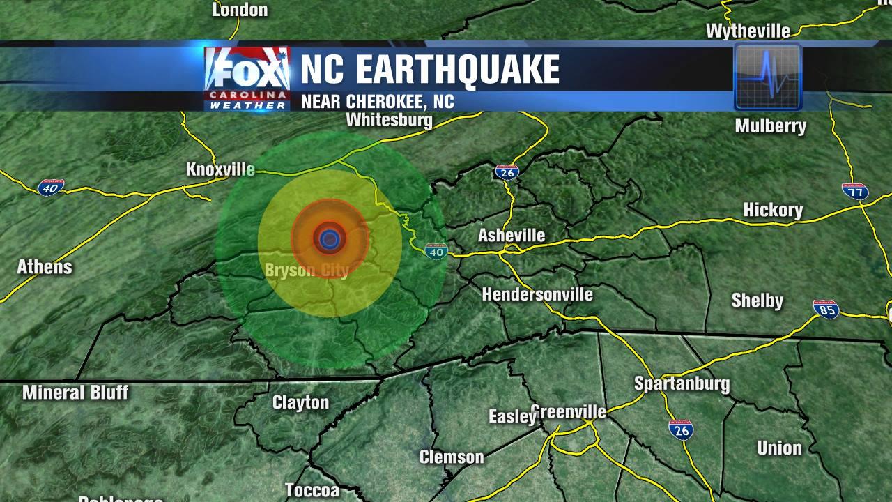 Atlanta Traffic Cams >> Earthquake north of Cherokee, NC - FOX Carolina 21