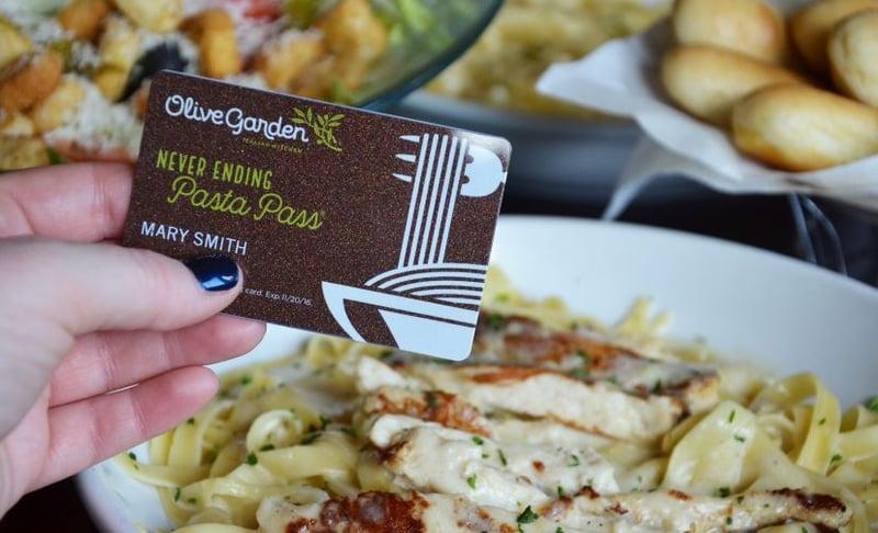 Olive Garden Brings Back The Never Ending Pasta Pass Fox Carolina 21