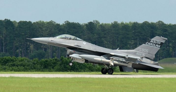 South Carolina Air National Guard jet (Courtesy: SCANG)