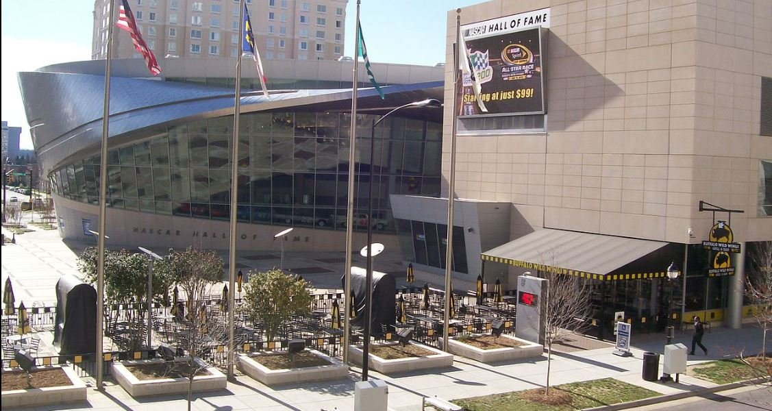 NASCAR Hall of Fame (Wikimedia Commons)