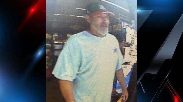 Fountain Inn police are on the lookout for this man who is accused of stealing a car Friday. (SOURCE: FIPD)