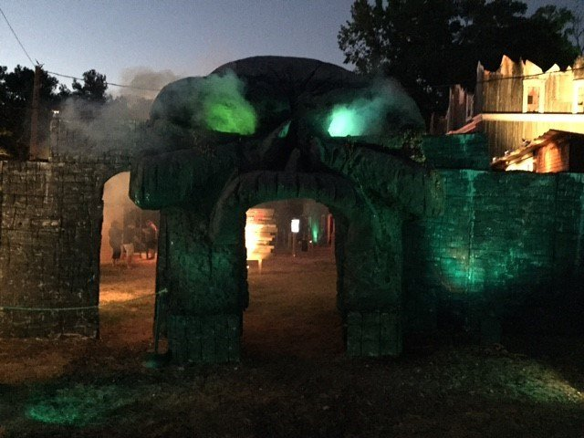 The gates to Madworld (FOX Carolina/ Sep. 24, 2016)