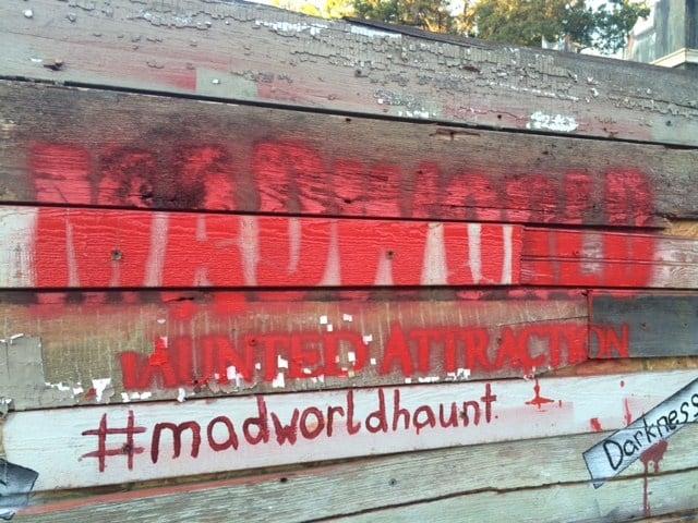 Madworld sign (FOX Carolina/ Sep. 23, 2016)