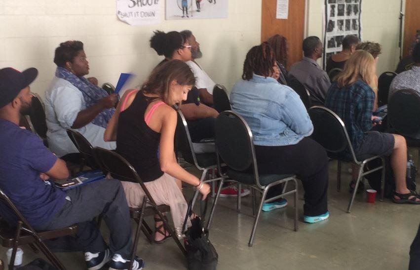 Greenville teach-in (FOX Carolina/ Sep. 24, 2016)