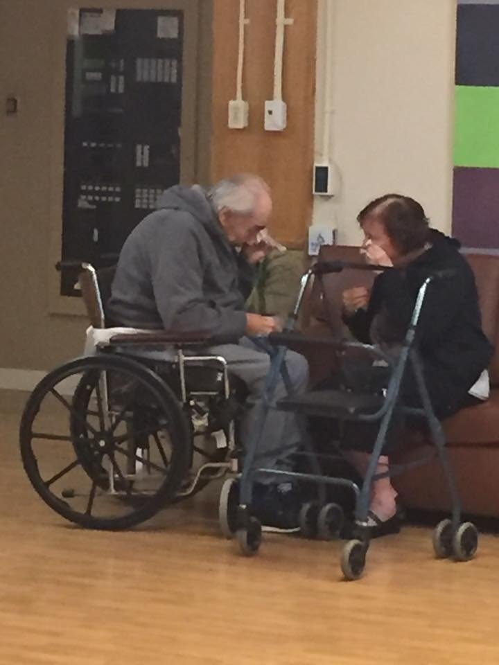 Wolf and Anita Gottschalk of Surrey, B.C, have been married for 62 years. But they were admitted into separate nursing homes and, for the last eight months, have been forced to live apart. (Source: Anita Gottschalk)