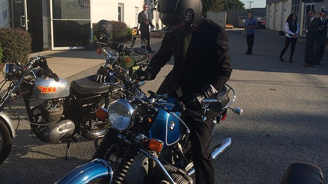 Greenville's 2016 Distinguished Gentleman's Ride (Sep. 25, 2016/FOX Carolina)