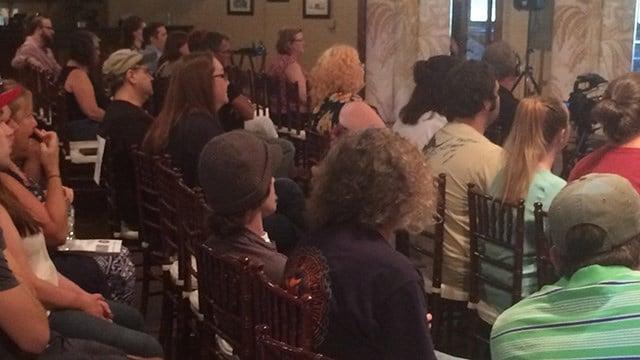 On Sunday, apublic forum on cannabis was held in Greenville. (FOX Carolina/ 9/25/16)