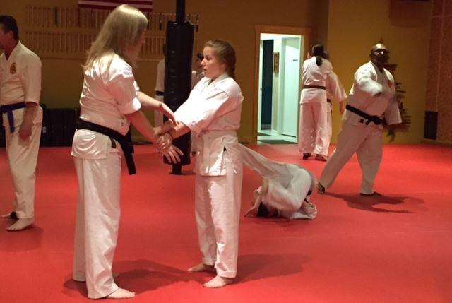 Students in Beckham Martial Arts (FOX Carolina/ Sep. 26, 2016)