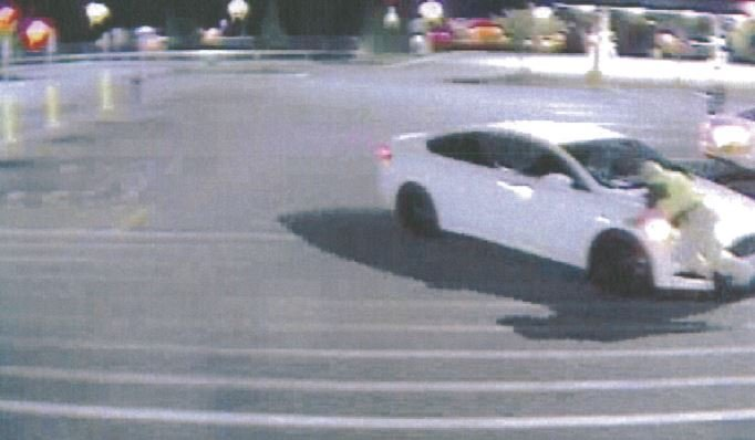 Surveillance photo of the crash (Courtesy: Simpsonville PD)
