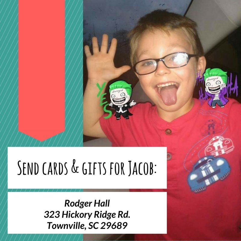 Send cards and gifts for Jacob. (file/FOX Carolina)