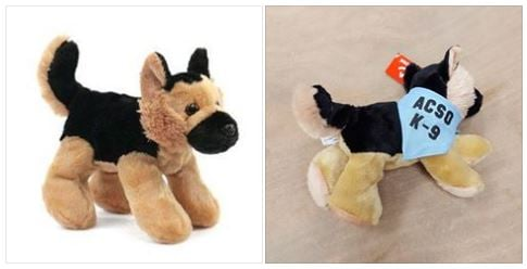 Anderson Co. K-9 stuffed animals (Source: Hyco K-9 Fund)
