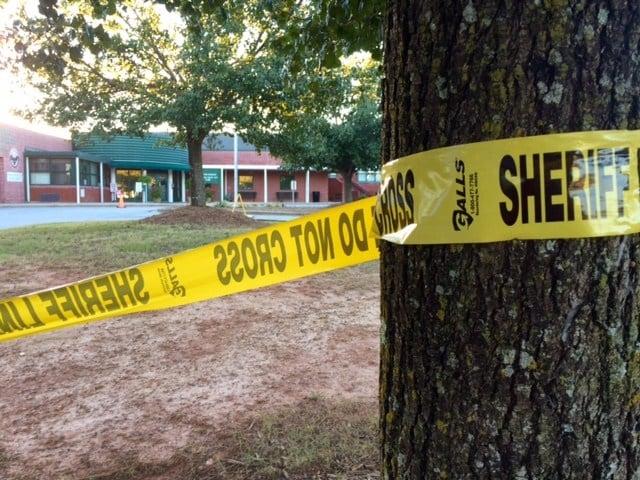Townville crime scene (Sep. 29, 2016/FOX Carolina)