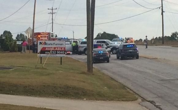 Haywood Road crash (FOX Carolina/ Oct. 3, 2016)