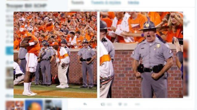 SC Highway Patrol Trooper Bill Rhyne. (Source: Twitter)