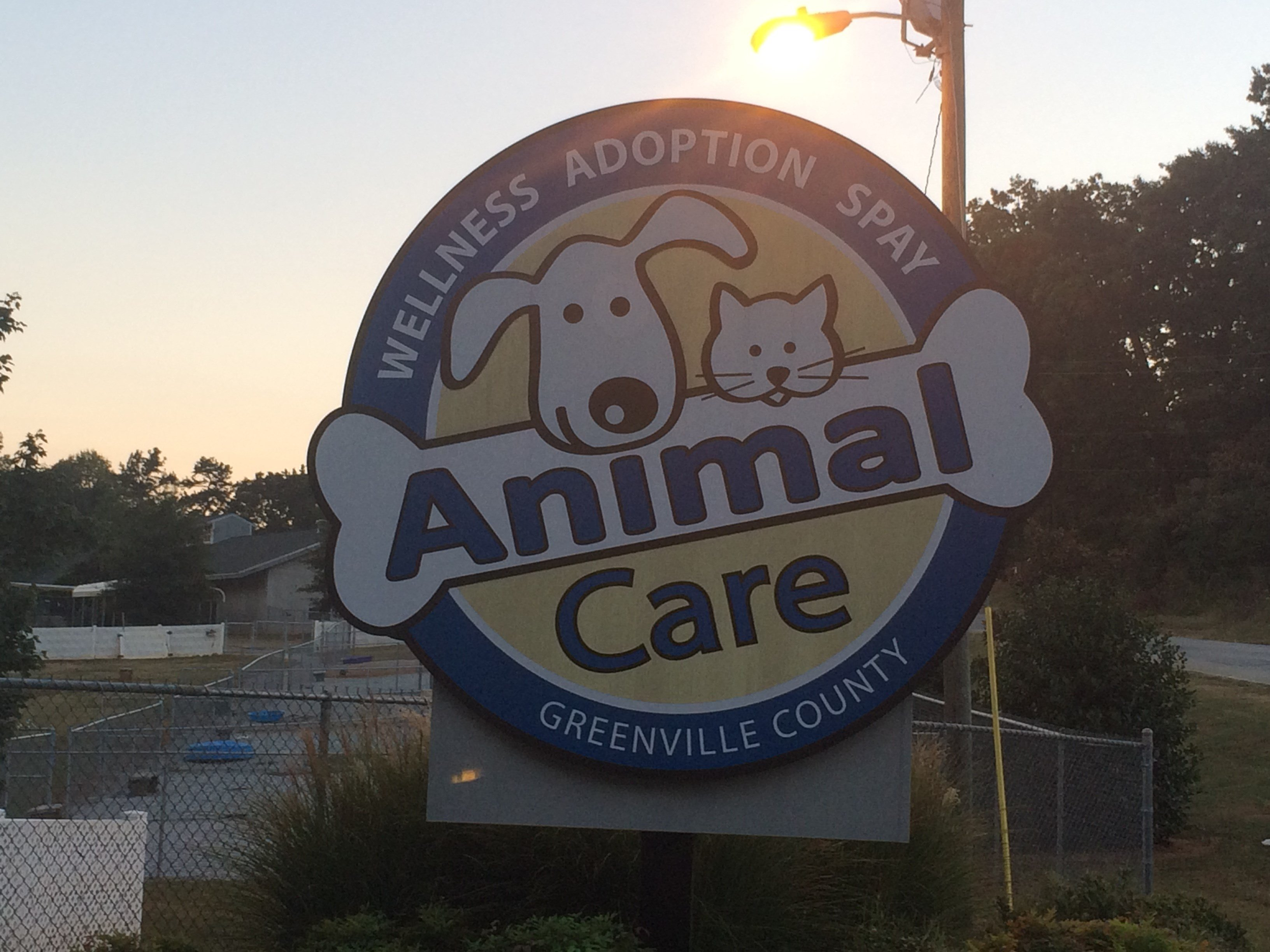 Greenville County Animal Care (Oct. 4, 2016/FOX Carolina)