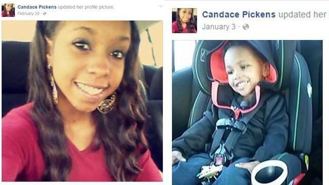 Candace Pickens and Zachaeus Waters (Source: Facebook)