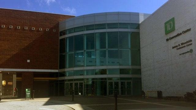 TD Convention Center (Oct. 5, 2016/FOX Carolina)