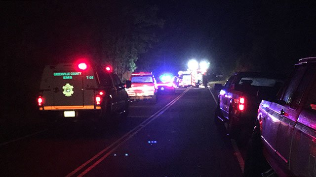 Troopers respond to fatal crash on Mckittrick Bridge Road. (Oct. 7, 2016/FOX Carolina)