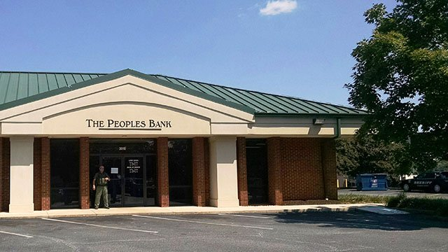 Deputies respond to armed robbery at Peoples Bank in Anderson on Sept 6. (Source: Anderson County Sheriff's Office)